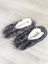 Load image into Gallery viewer, Grey Cozy Slippers