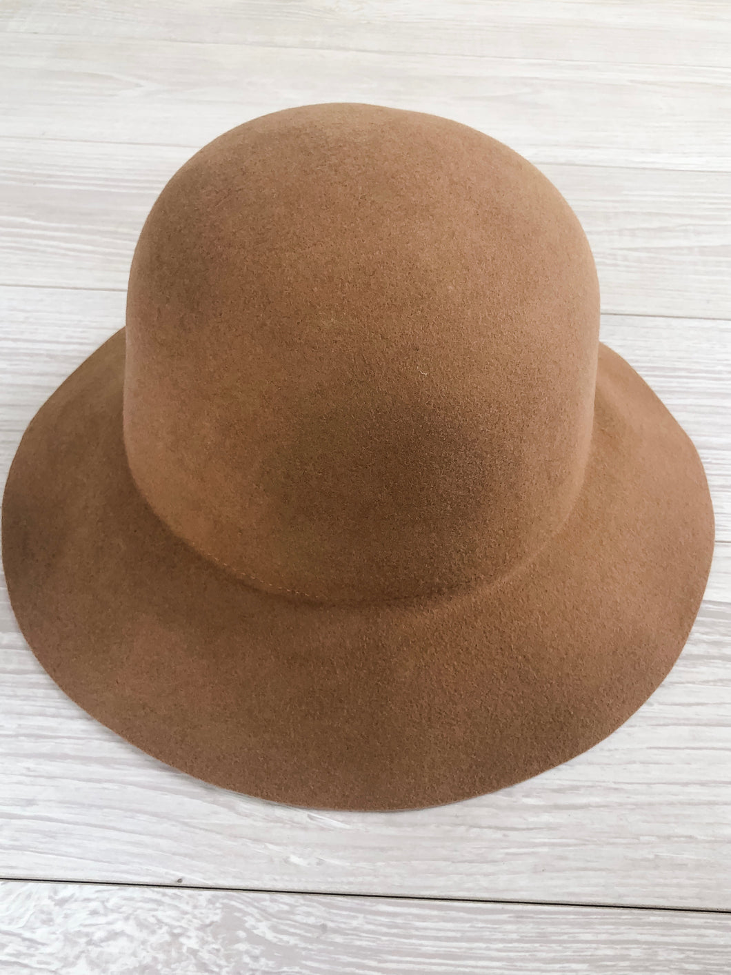 Camel Wool Felt Hat