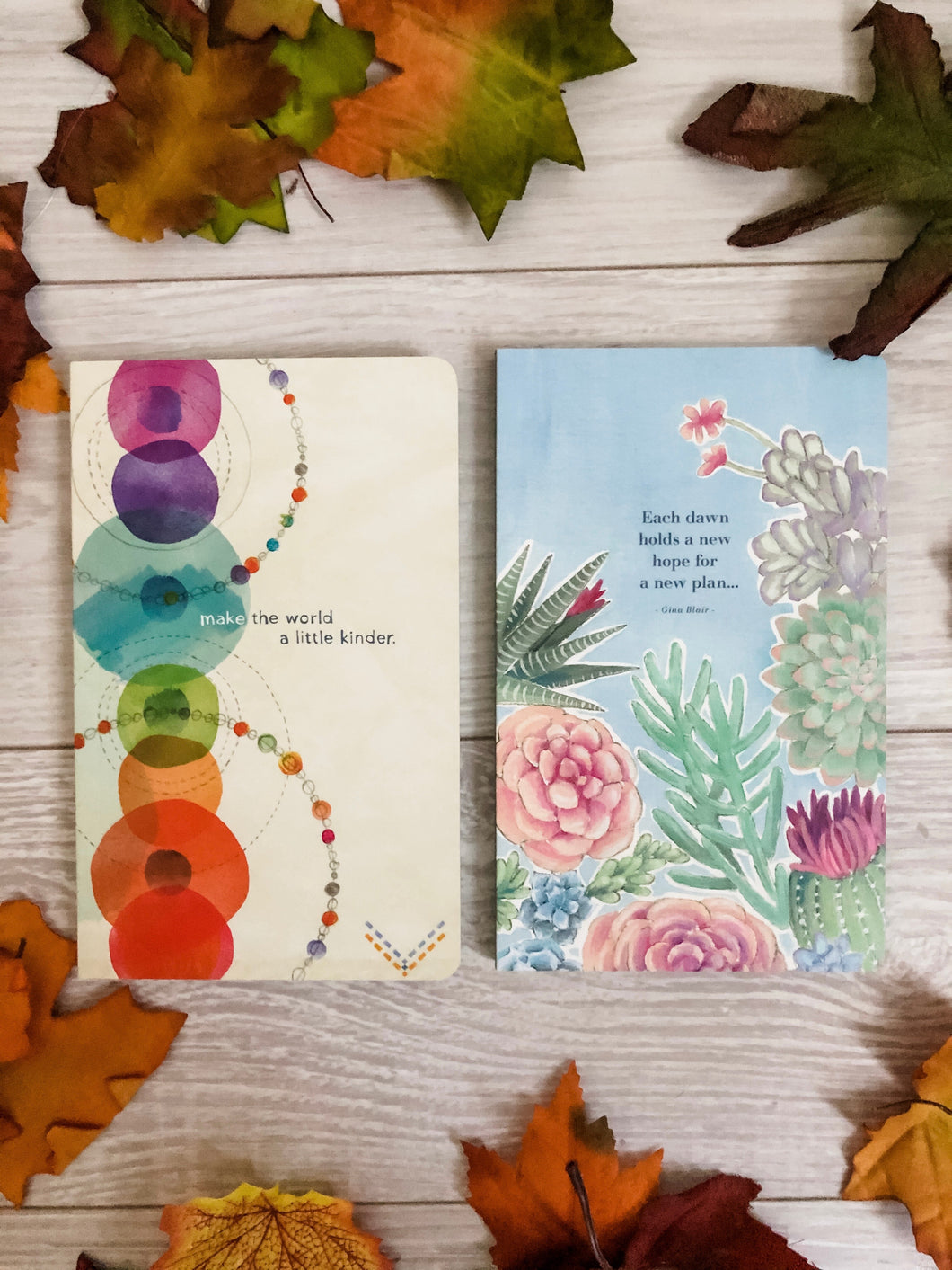 Cute Inspirational Message Journals