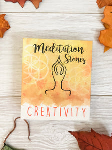 Creativity Meditation Stones