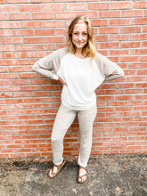Load image into Gallery viewer, Taupe Leopard Loungewear Set