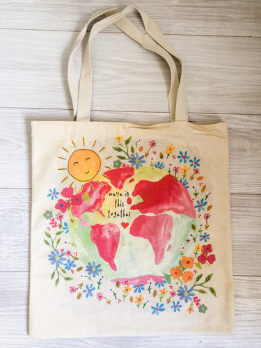 We're In This Together Canvas Tote