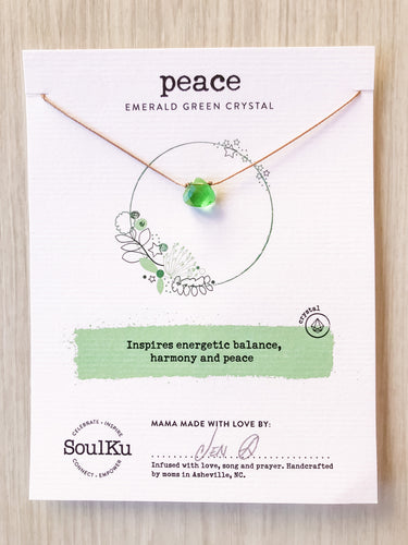 Peace SoulKu Soul Shine Necklace