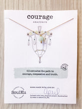 Load image into Gallery viewer, Courage SoulKu Lantern Necklace