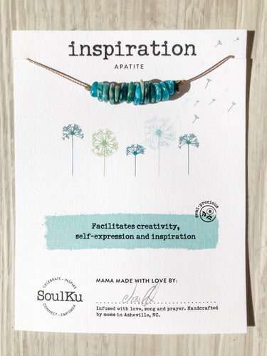 Inspiration SoulKu Seed Necklace