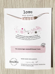 Love SoulKu Intention Necklace