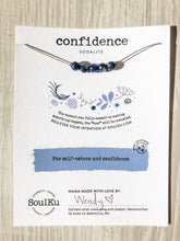 Load image into Gallery viewer, Confidence SoulKu Intention Necklace