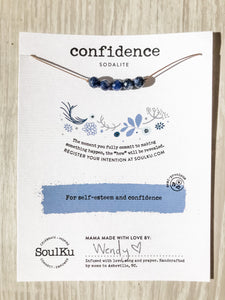 Confidence SoulKu Intention Necklace