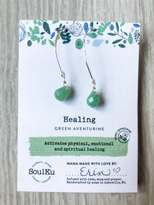 Healing SoulKu Soul Shine Long Earrings