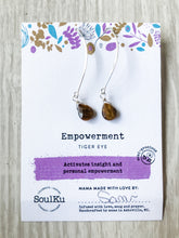 Load image into Gallery viewer, Empowerment SoulKu Soul Shine Long Earrings