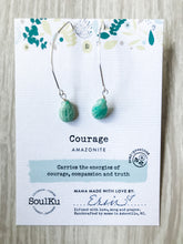 Load image into Gallery viewer, Courage SoulKu Soul Shine Long Earrings