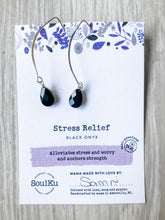 Load image into Gallery viewer, Stress Relief SoulKu Soul Shine Long Earrings