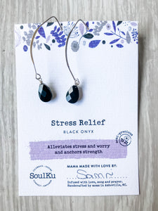 Stress Relief SoulKu Soul Shine Long Earrings