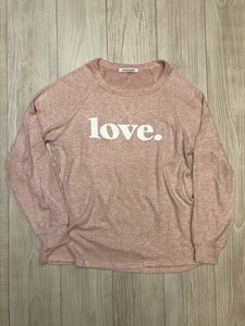 Pink Love Sweatshirt