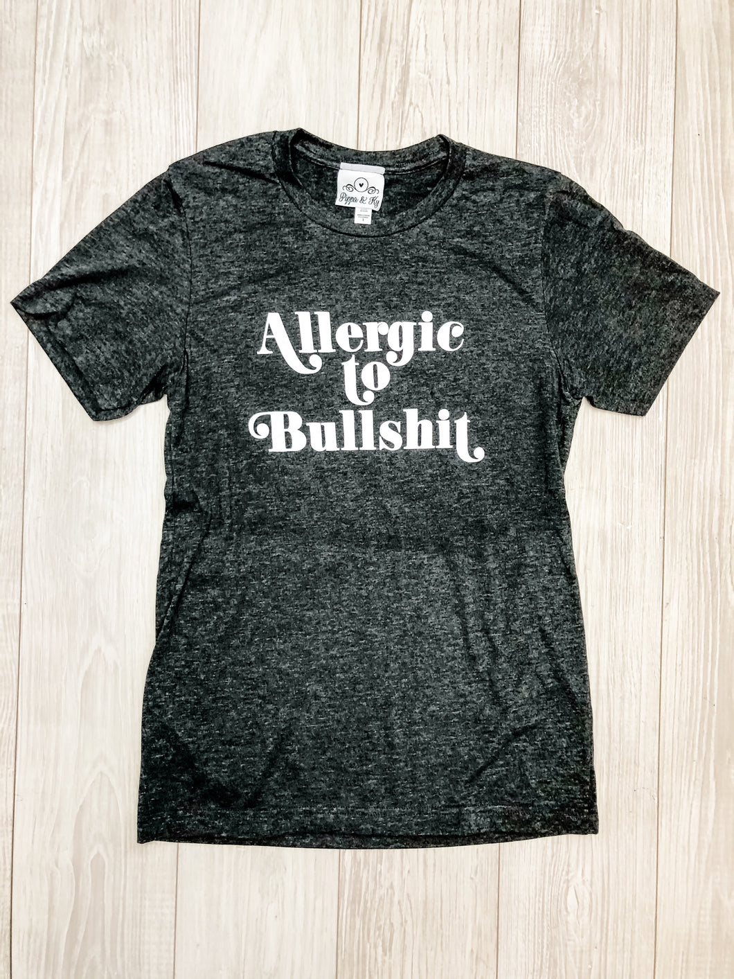 Charcoal Allergic to BS T-Shirt
