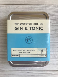 Gin and Tonic Cocktail Box