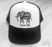 Load image into Gallery viewer, Dream Big Trucker Hat Front