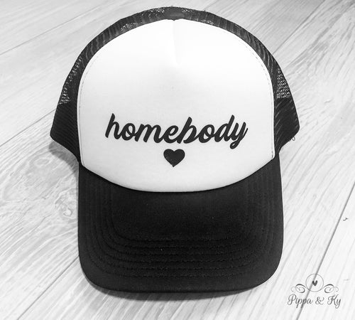 Homebody Trucker Hat Front