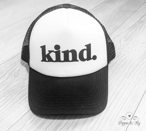 Kind Trucker Hat Front
