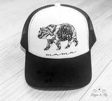 Load image into Gallery viewer, Mama Bear Trucker Hat Front