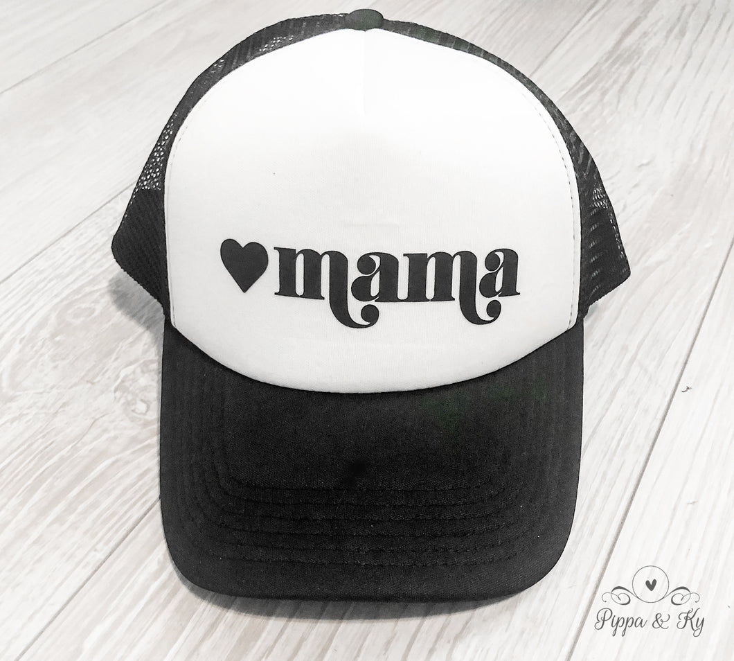 Mama Trucker Hat Front
