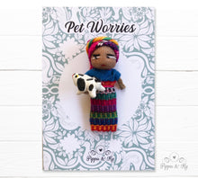 Load image into Gallery viewer, Handmade Guatemalan Worry Doll Wearing a Traditional Mayan Costume