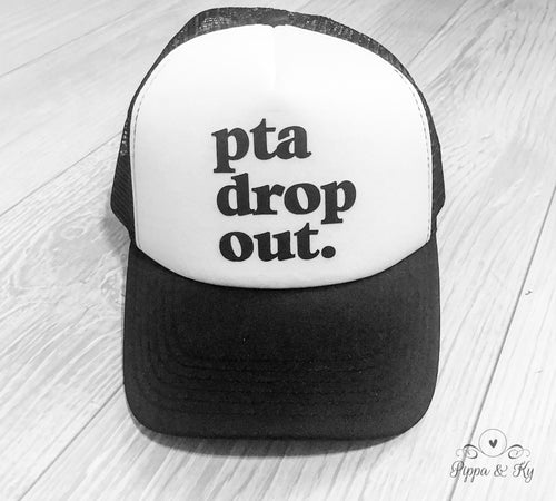 PTA Drop Out Trucker Hat Front