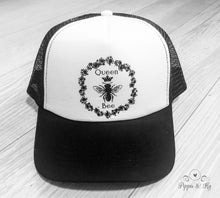 Load image into Gallery viewer, Queen Bee Trucker Hat Front