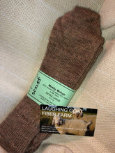 Load image into Gallery viewer, Sock-Crew -Extra Lg. (M 12-14) Mostly Mohair