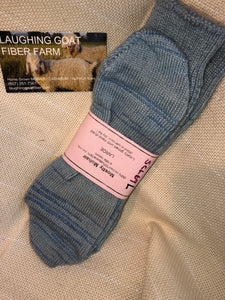 Sock-Crew -Large (W 10.5-13/M 9-11.5)Mostly Mohair