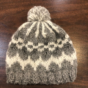 Hand knit hats