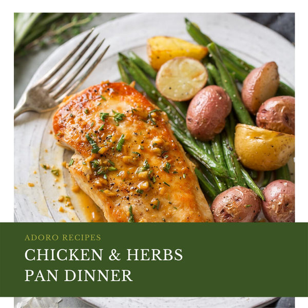 Chicken & Herb Sheet Pan Dinner