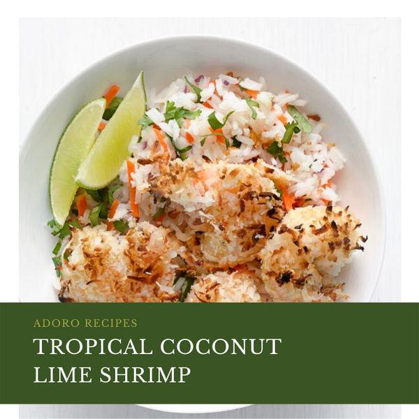 Tropical Coconut Lime Shrimp