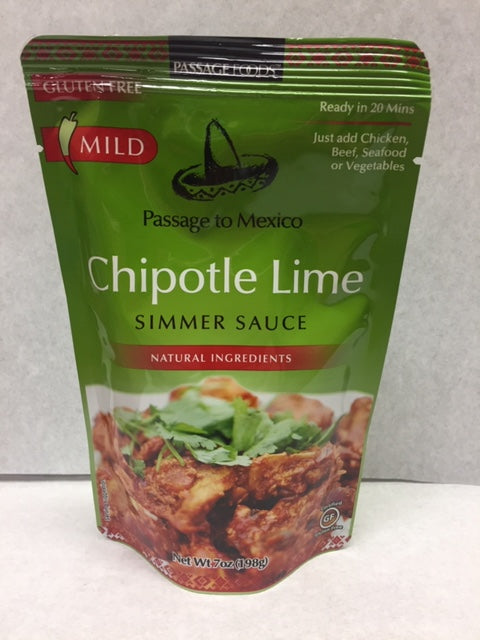 Chipotle Lime Simmer Sauce