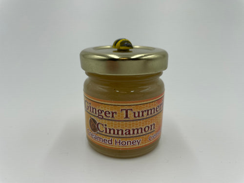 Creamed Honey - Ginger Turmeric Cinnamon (50g)