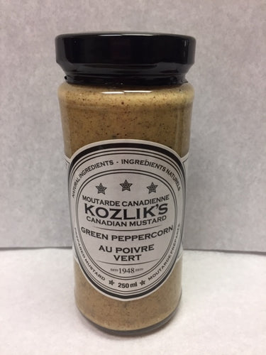 Kozlik's Green Peppercorn Mustard