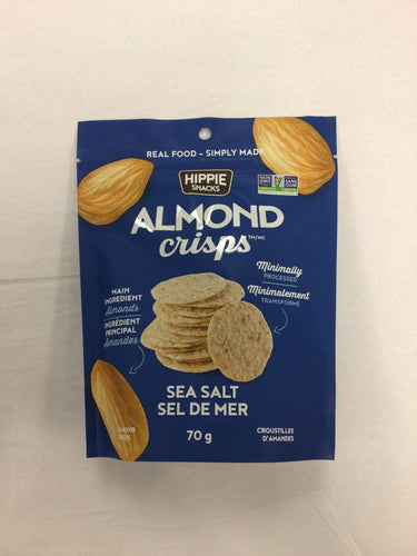 Hippie Snacks Almond Crisps
