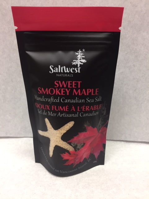 Saltwest Sweet Smokey Maple Sea Salt