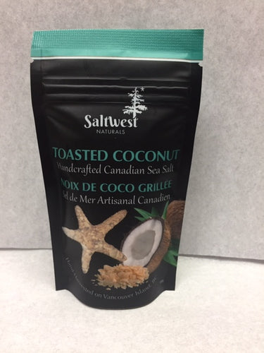 Saltwest Toasted Coconut Sea Salt