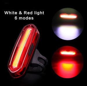 120 Lumens  USB Rechargeable Waterproof Light Four Options