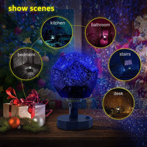Star Sky Projector Night Light Lamp