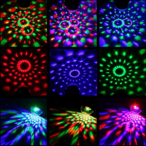 Sound Activated Music Party RGB Stage Light Lamp