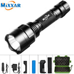 C8 Ultra-Bright Tactical Flashlight Water-Resistant LED Torch With 5 Light Modes For Camping Security Emergency Use