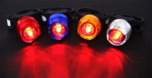 LED Waterproof Bike Tail Light Safety Warning Lamp Cycling Safety Caution Light