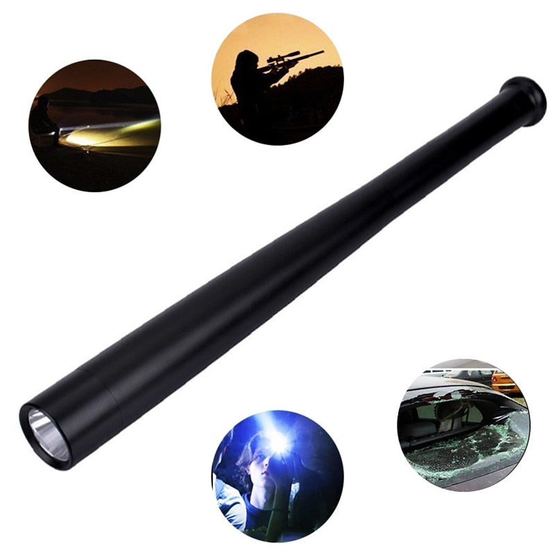 Self Defense LED Flashlight T6 High Brightness Handheld Torch