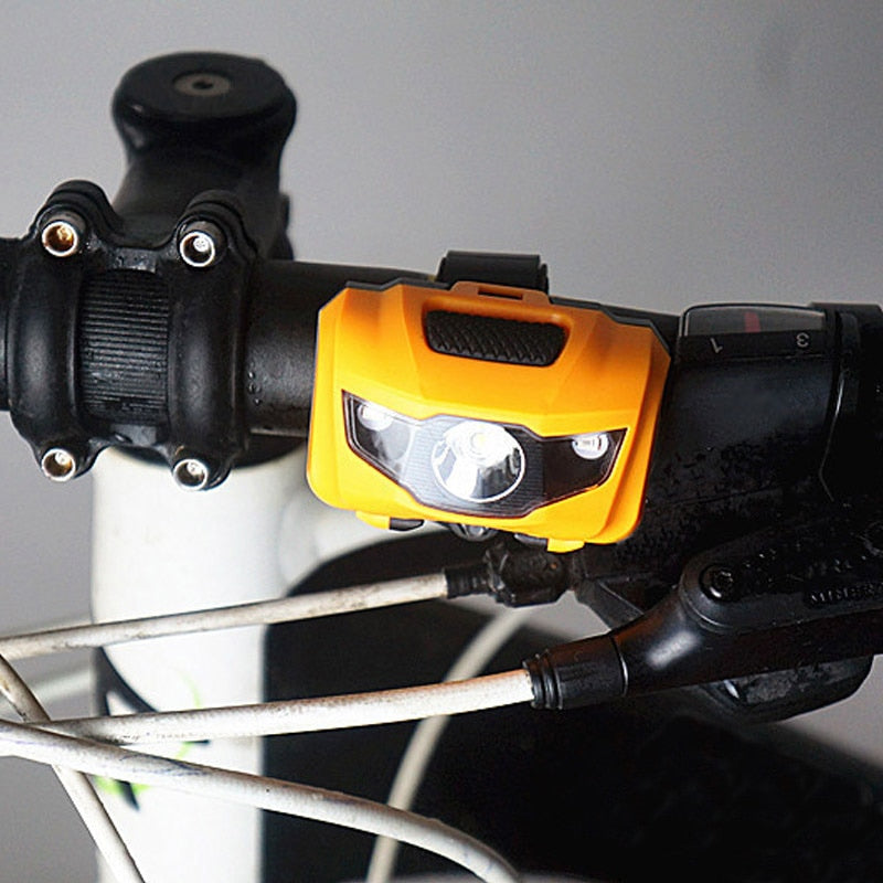 400LM Bicycle Light 3 LED Safety Warning Lamp For Night Riding