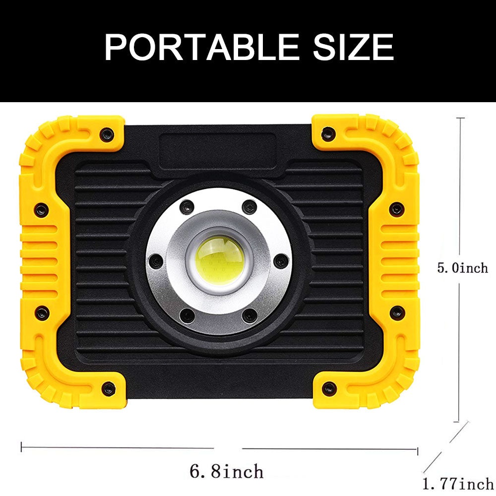 Portable LED Work Light Outdoor Lantern IPX5 Waterproof