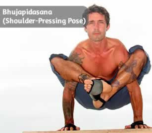 Bhujapidasana (Shoulder-Pressing Pose)
