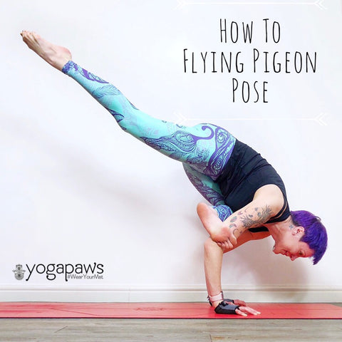 how to do flying pigeon posejessi moore