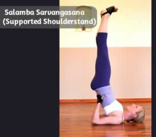 Salamba Sarvangasana (Supported Shoulderstand)